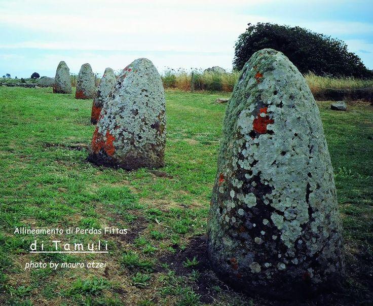 Tamuli (Macomer), allineamento di menhir.