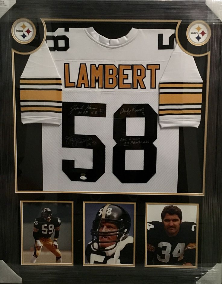 brand new cee0f 6bc0a authentic jack lambert mens throwback jersey pittsburgh ...