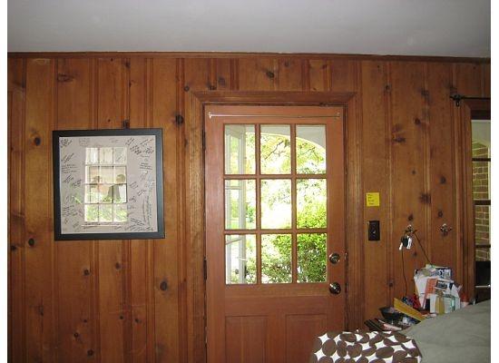 51 besten painted paneling bilder auf pinterest wohnideen w nde streichen und bastelei. Black Bedroom Furniture Sets. Home Design Ideas