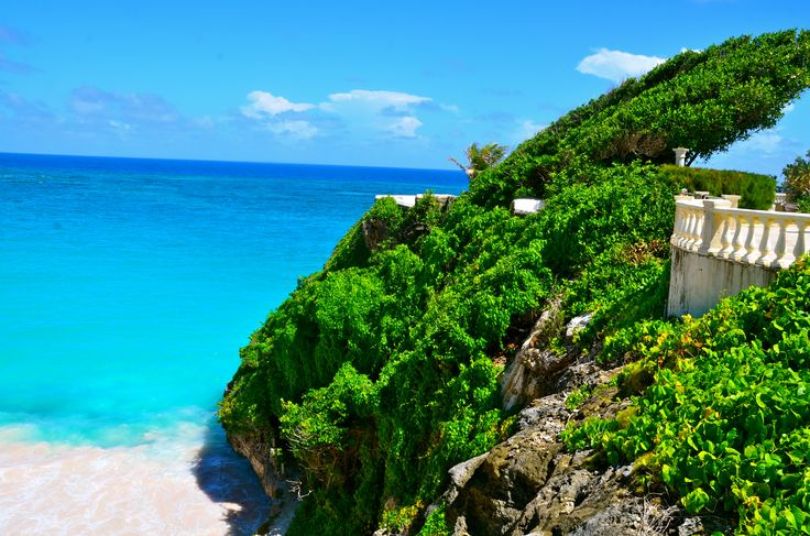 View from Crane hotel-Barbados