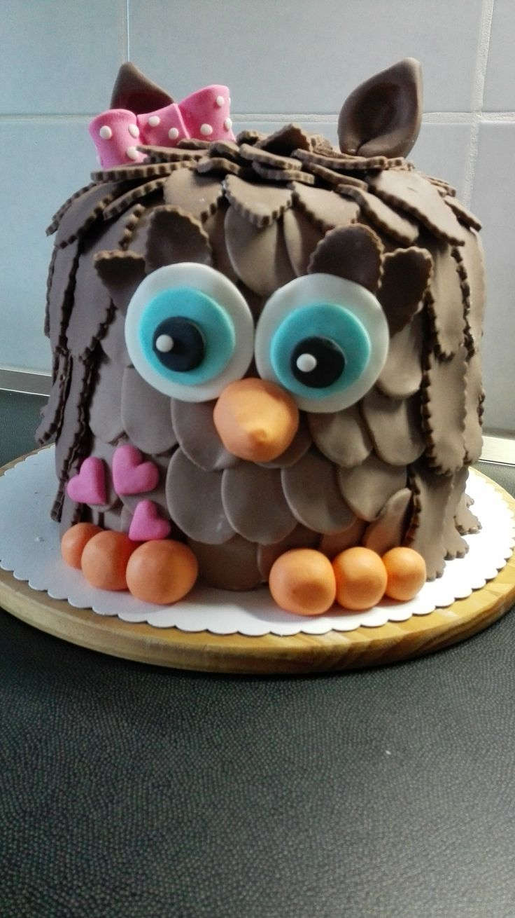owel cake,dort sova