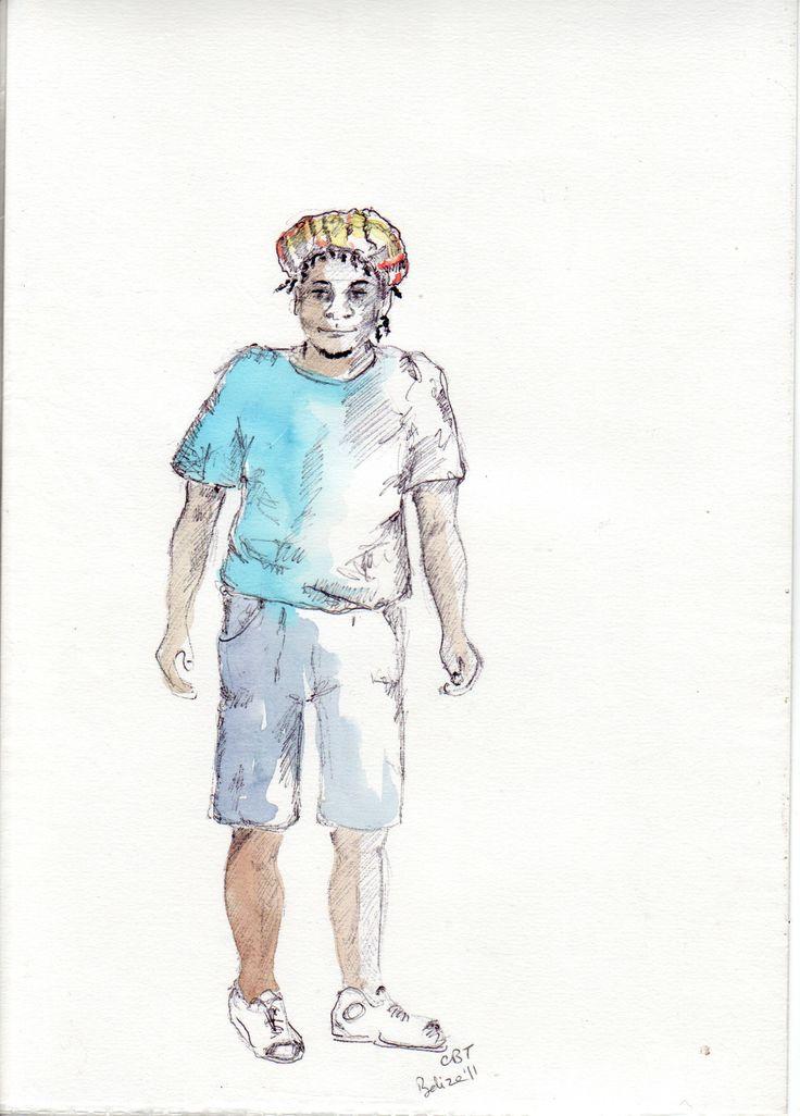 boy in Belize