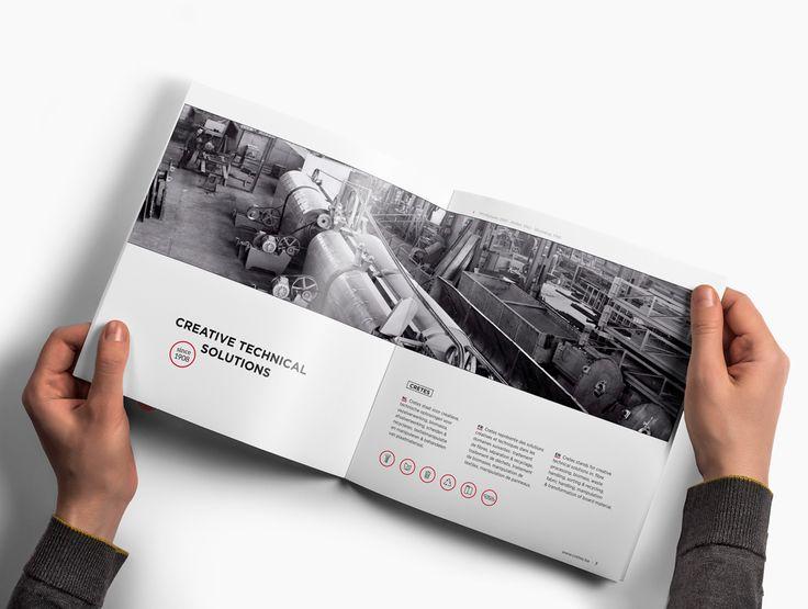 Avondster: open - ontwerp corporate brochure voor Cretes - Avondster: corporate brochure design / lay-out for Cretes