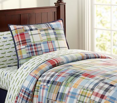 Madras Duvet Cover- Yes I am searching Pottery Barn Kids for a duvet for the master bedroom.