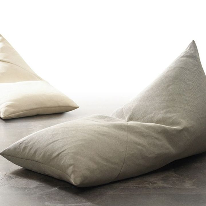 Triangle Style Bean Bag Linen
