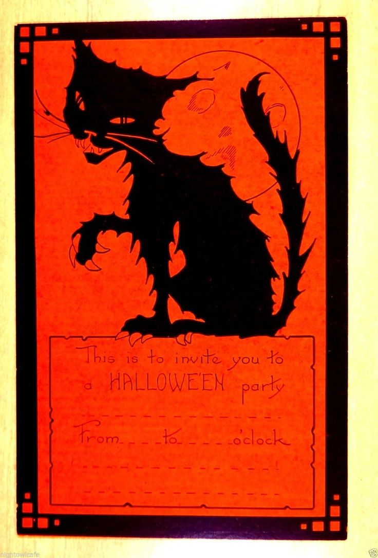 The 720 best images about Halloween Images from the Past on Pinterest