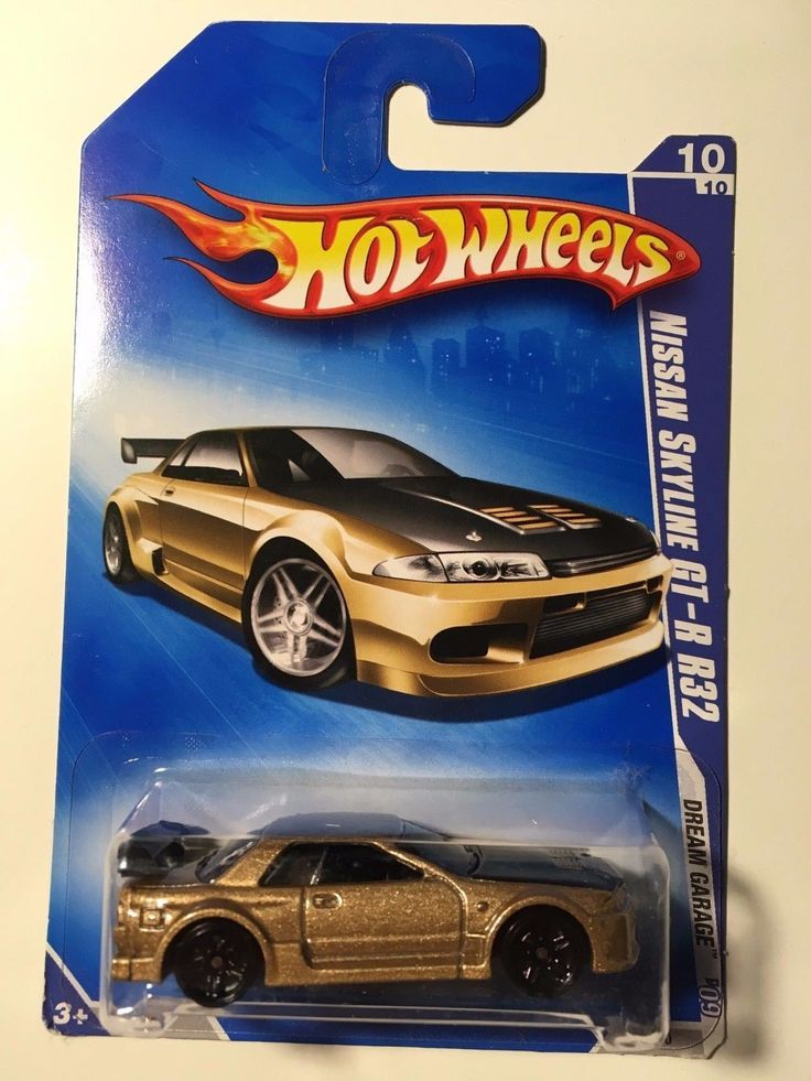Cool Amazing Hot Wheels Nissan GT-R GTR R32 2010 Gold NEW R-32 Skyline Dream Garage RARE 2018