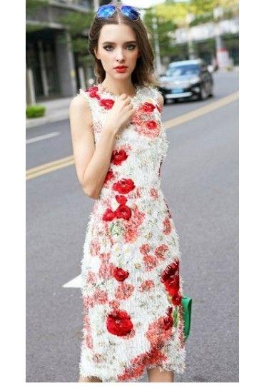 #Rochie model floral #vara