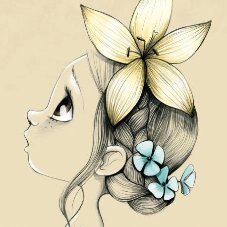 Wild girl - Emmanuelle Colin