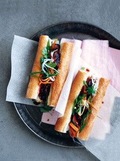 caramelized pork bánh mì recipe on food52 caramelized pork bánh mì ...