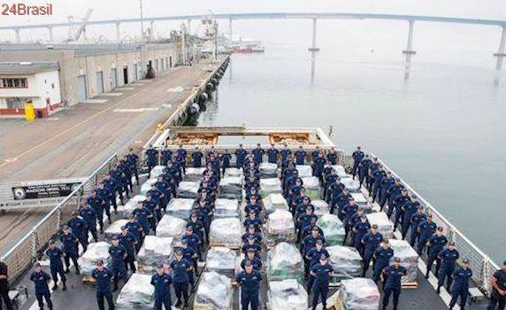 Guarda Costeira dos EUA apreende 16 toneladas de cocaína
