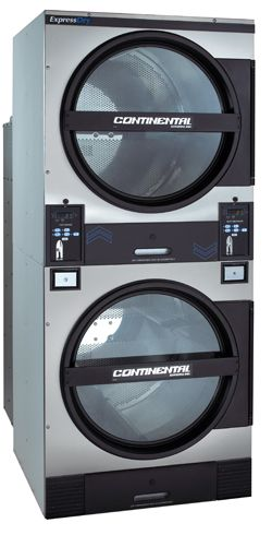 45 pound stack capacity coin laundry dryer