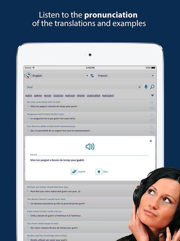 Reverso Translation & Dictionary in context Screenshot