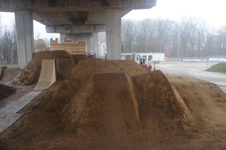 Dirt Line im Hammerpark