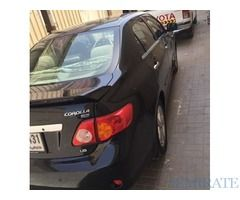 Toyota Corolla 2010 for sale in very good condition