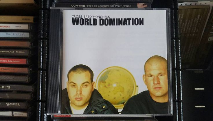 Listening to...Cross Bred Mongrels World Domination @djdebris #crossbredmongrels #ozhiphop #AussieHipHop #rap #cdcollection