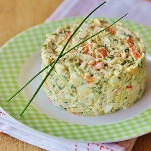 Крабовый салат с огурцом и зеленым луком рецепт – салаты с огурцами: салаты. «Афиша-Еда»