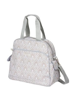 58% OFF The Bumble Collection Brittany Backpack Diaper Bag (Blue Filigree)