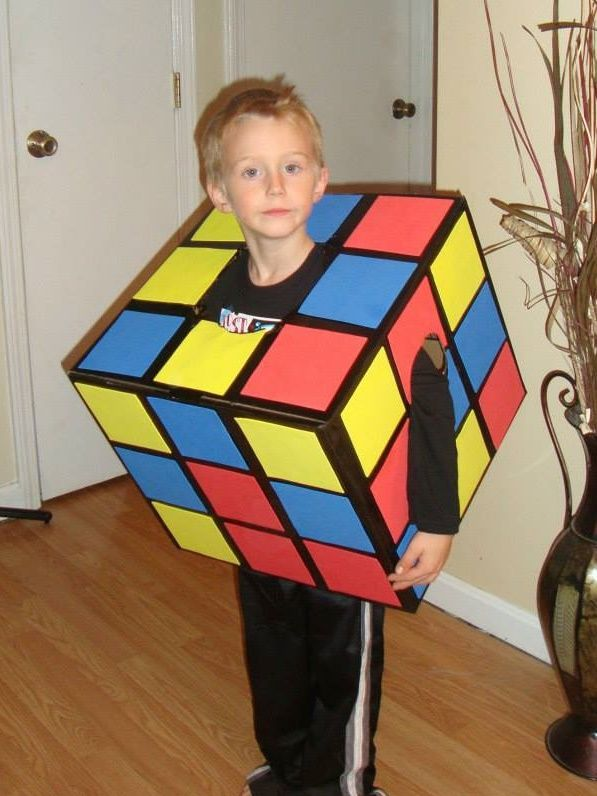 Home made Halloween Costume. Rubix Cube  sc 1 st  Pinterest & 13 best Boys costumes images on Pinterest | Children costumes ...