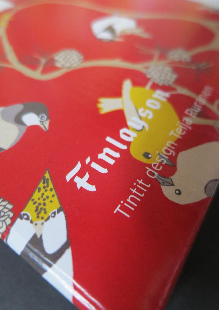 Tintit   Finlayson   Posti   Original Design Teija Puranen