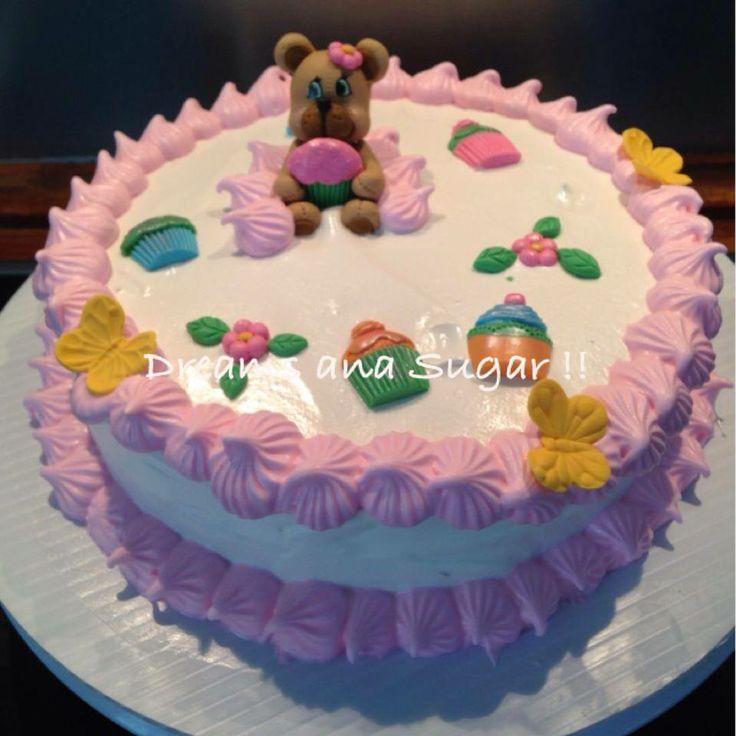 lovely bear cake