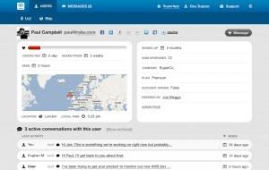 Contact onderhouden met gebruikers van je webapplicatie of website