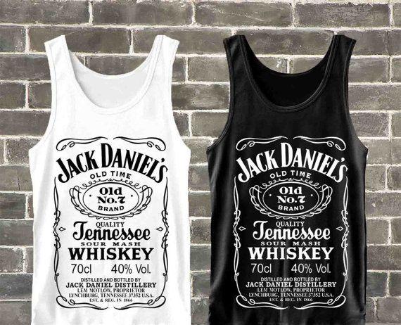 Jack Daniels Tank Top Jack Daniels Clothing Jack by RudoDokar, $18.99