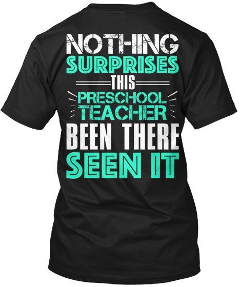 NOTHING SURPRISES THIS PRESCHOOL TEACHER