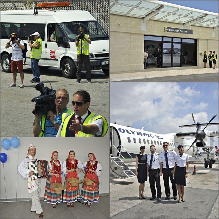 . Malta International Airport Luqa Airport / Valletta Airport IATA: MLA – ICAO: LMML Η υποδοχή μας είναι πολύ καλά οργανωμένη