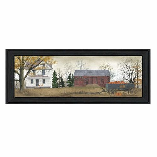 Found it at Wayfair - Pumpkins For Sale by Billy Jacobs Framed Painting Print