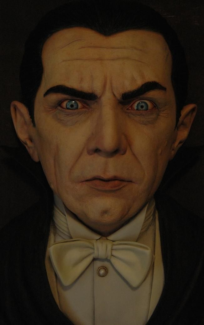 Black Heart Unpainted 1:1 Scale Dracula (Bela Lugosi) Wall-hanger
