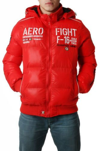 Geographical Norway Mens Jacket Red Sizes s M L XL | eBay