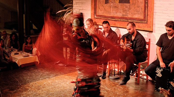 TABLAO DE CARMEN Flamenco show in Barcelona