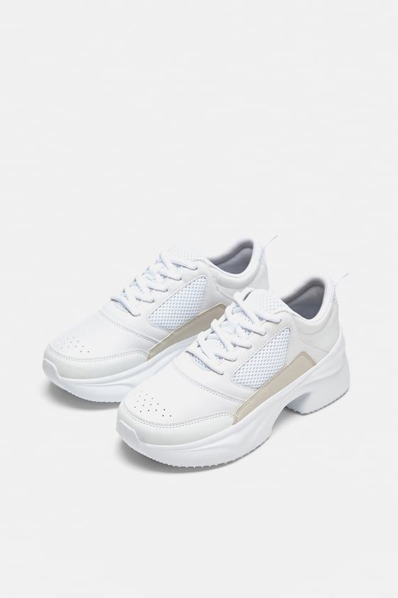more photos a746d f1aba Image 2 of CHUNKY SOLE SNEAKERS from Zara