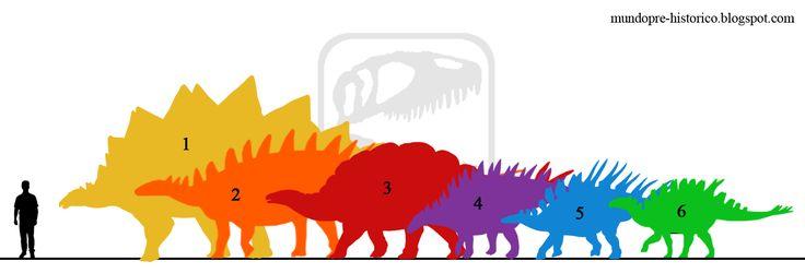 Mundo Pré-Histórico: Estegossauros (Stegosauria)