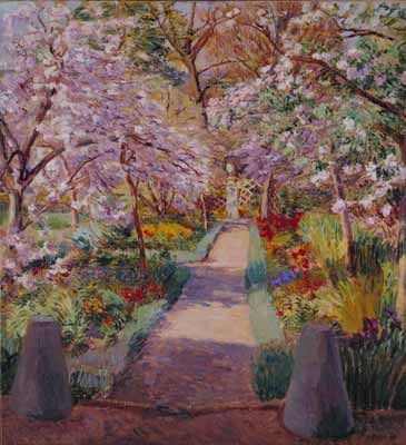 """""""Garden Path in Spring"""" by Duncan Grant"""