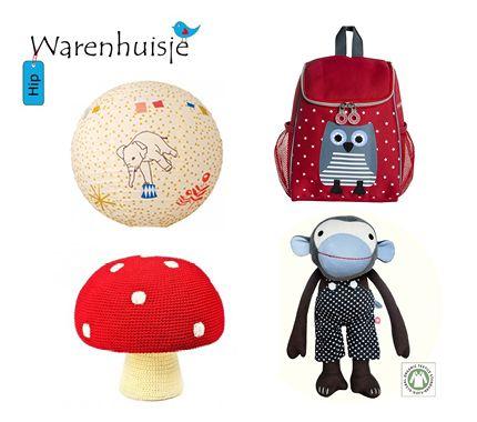 Bij HIP Warenhuisje vind je hippe en trendy kinderaccessoires zoals poefjes, knuffels, muurstickers, opbergboxen, lampen, rugzakjes, mobiels, muziekdoosjes, rammelaars en nog veel meer! In de webwinkel vind je merken zoals: Anne-Claire Petit, Cara Caro, Heico, Franck & Fischer, Miho Design... | http://www.moodkids.nl/shopgids/spelen/hip-warenhuisje | Moodkids