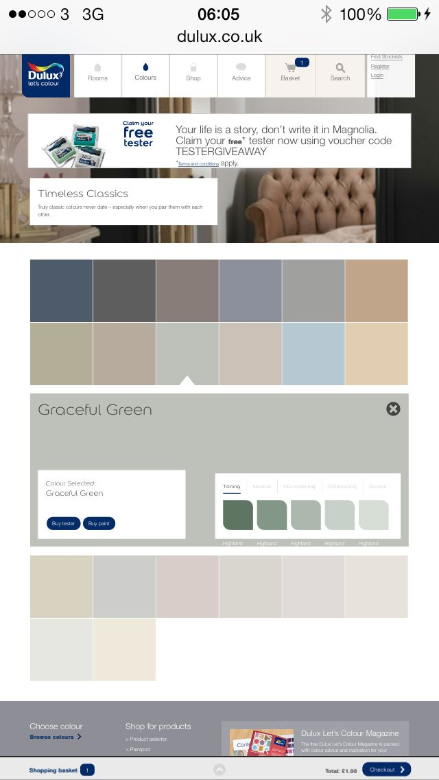 Dulux graceful green - green pallet | Colors of the