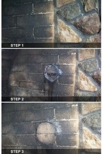 Fire is dirty. The inside of your fireplace gets gross over time. Learn how to clean it out using this safe and incredibly effective technique.