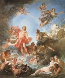 Francois Boucher, 'The Rising of the Sun' 1753.