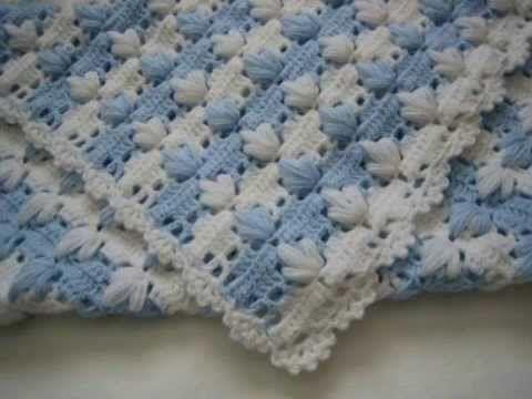 Las 25 mejores ideas sobre mantas para beb s en pinterest - Manta de bebe a ganchillo ...