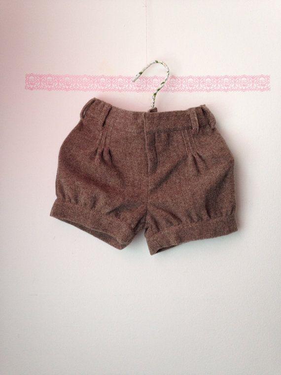 Зимние шорты... Шерстяные брюки... Короткие девушка... Короткие ретро тренд