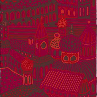 Skap myke kontraster i hjemmet med det vakre stoffet Kumiseva fra det finske varemerket Marimekko. Kumiseva er det finske ordet for øko og det detaljrike mønsteret minner om ekkoet mellom bygningene i en by. Motivet ble formgitt allerede i 1971 av Katsuji Wakisaka men har blitt populært igjen. Velg mellom forskjellige fargesammensetninger.