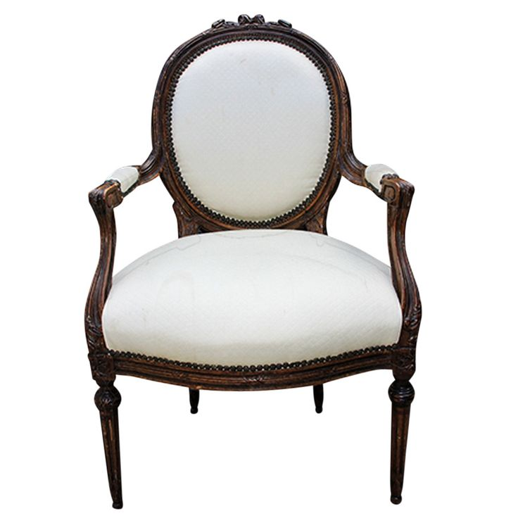 French Louis XV Style Armchair