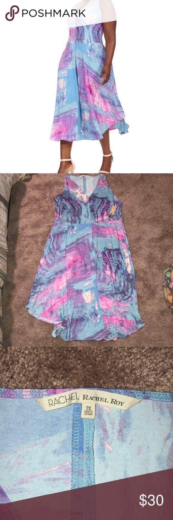 Rachel Roy Dress NWT midi length. Super spring dress. Soft material RACHEL Rachel Roy Dresses Midi