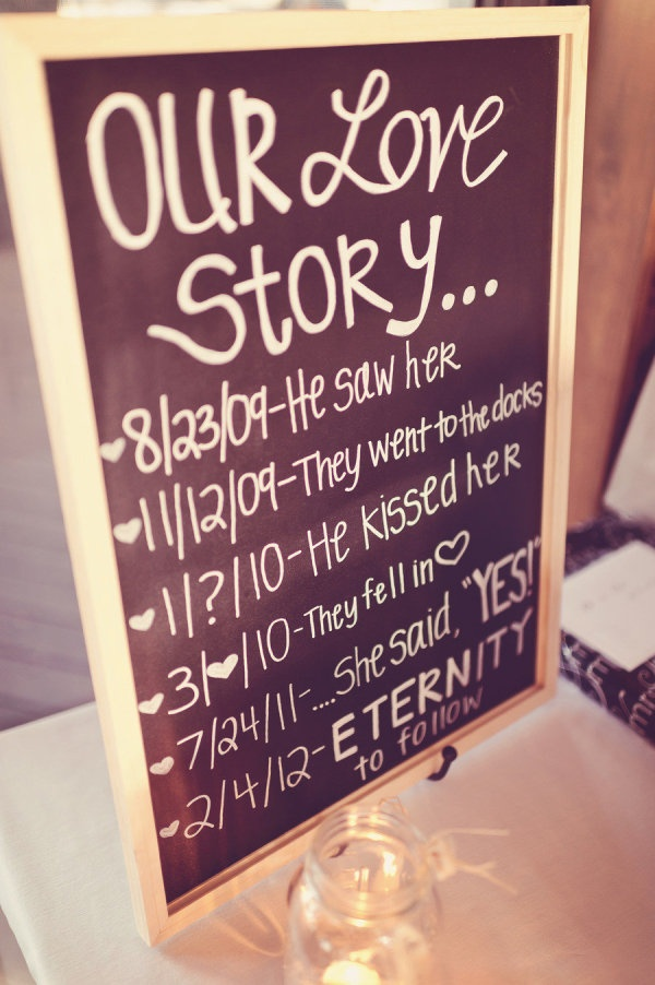 sooo cute!  i like the ? and <3 in place of dates that are either unknown or impossible to determine (they fell in love)