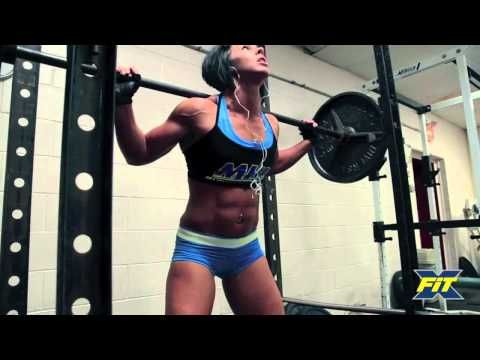FEMALE PRO BODYBUILDER TAKES ON CrossFit - Dana Linn Bailey (Song: Fabolous - Breathe)  She's a beast!