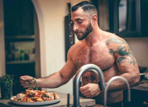 Belleza Belleza Hombres oso la tendencia de guapos gay