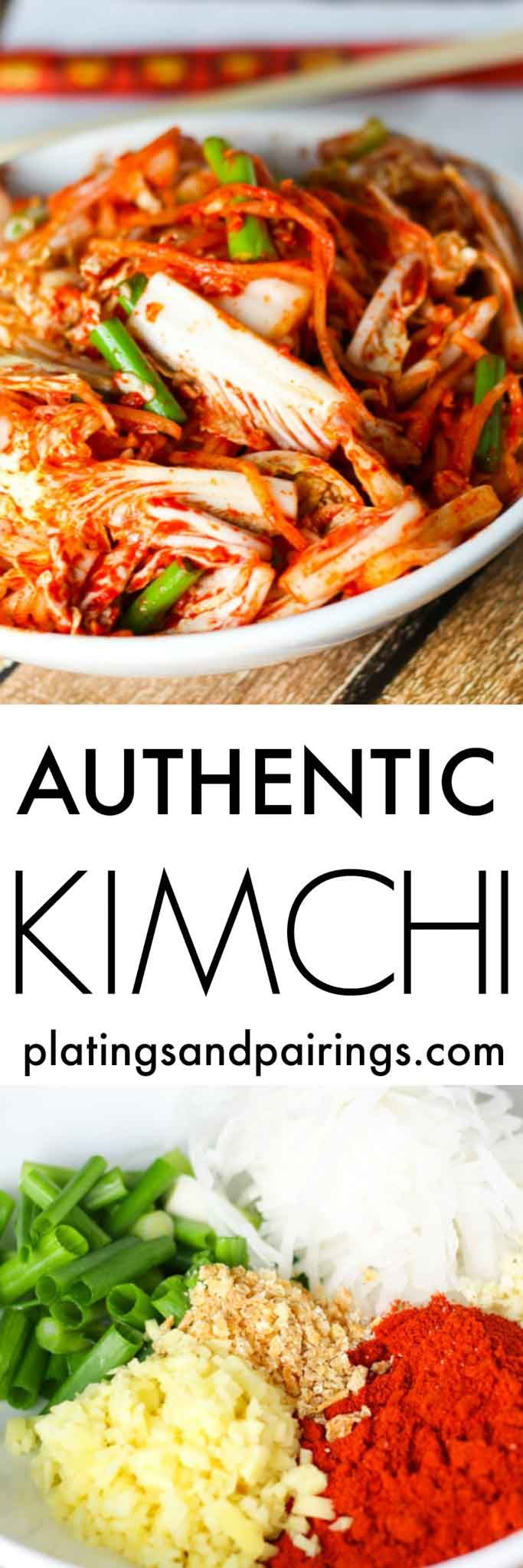 Learn how to make authentic Kimchi (Kimchee) at home. It's easy to do with these simple steps! | platingsandpairings.com