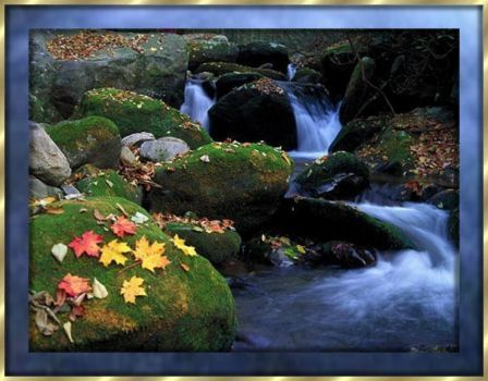 autumn water falls (48 pieces)